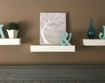Floating Shelf / Floating Shelves / Rustic Shelf / Farmhouse Decor / Bracketless shelf/ Wood Shelf / Rustic Wooden Shelf / Rustic Decor