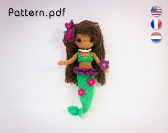 Pattern - Craquotine little Mermaid