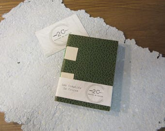 Notebook to fill - cross - creative - blank book - binding structure cross - Made in Arles