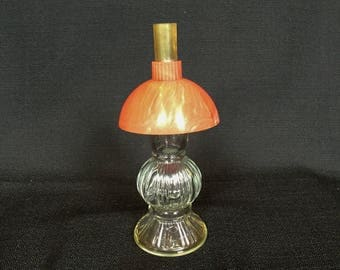 Vintage Perfume Bottle, Lander Perfume Bottle, Lander Oil Lamp Bottle, Oil Lamp Bottle