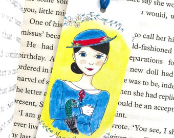 Mary Poppins Bookmark - literary - bookmark - Limited Edition