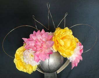 Princess Minnie Ears - Floral