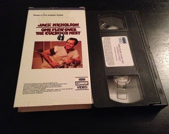 One Flew over the Cuckoo's Nest VHS: RARE HBO Release.