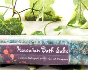 Hawaiian Bath Salts, Natural Bath Salts, Bath Salt