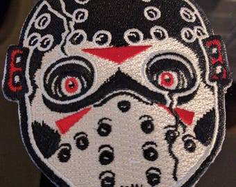 Jason Voorhees Embroidered Patch