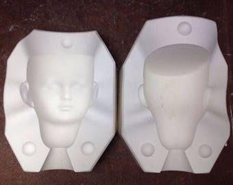 Vintage Gail Karen Doll Head Porcelain Ceramic Head Mold B 420 A Byron Molds A5