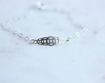 Succes Bracelet, Silver Prosperity Bracelet, Energy Bracelet, Good Fortune Bracelet, Sterling Silver, Abundance bracelet, Good Luck Bracelet