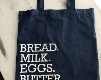 Farmhouse Tote bag, grocery bag