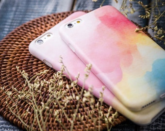 iPhone 6 Plus Case iPhone 6s Plus Case - Watercolor Dream - Ultra slim - Matte