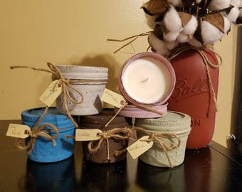 Natural Essential Oils Soy Candles