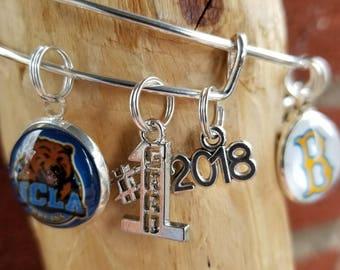 UCLA Graduation bracelet