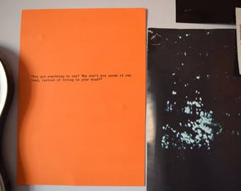 The 1975 Hand Typed Typewriter Quote