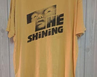 vintage 90s the shining movie horror thriler men t-shirt size XL