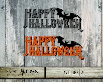 Halloween Font SVG - Cut Files - Vinyl Cutters, Screen Printing, Silhouette, Die Cut Machines, & More