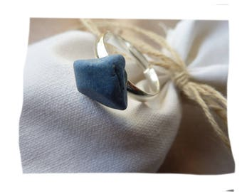 Natural polished sea ceramic durable ring