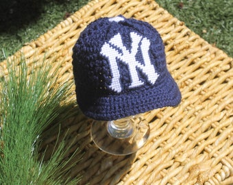 3e4c7dea0 new york yankees bobble hat crochet pattern hat outlet
