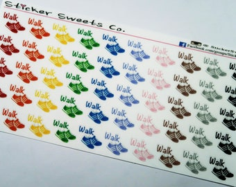 Walk Workout Stickers
