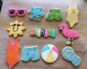 Pool Party Cookies (1 dozen)