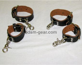 Deluxe Cuffs with Permanent Clips
