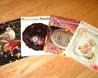 The Decorative Painter Magazine Books Lot of 4