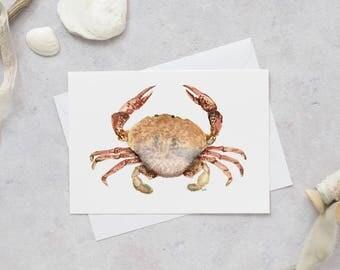 Crab Greeting Cards - Set of 3