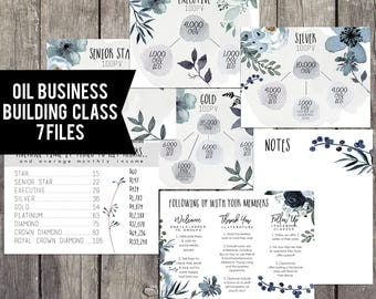 Oil Business Class, Essential Oil Business Card, Essential Oil Business Tools, Oils 101, Business Building Kit, Business Building Class