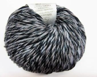 Katia 100% effect grey and black Merino Wool