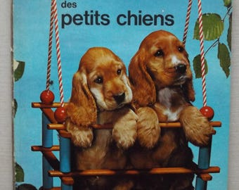 French vintage children's book / ABC of dogs by Fernand Nathan from 1966