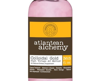Colloidal Gold 32oz 60PPM