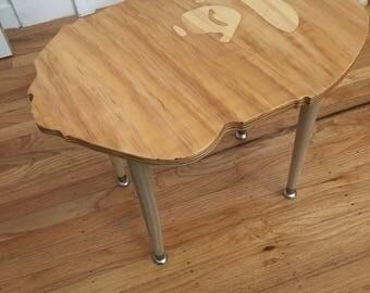 Custom bape head end table