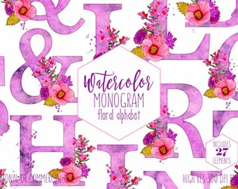 Purple Hibiscus Clipart