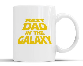 New Designer Best Dad In The Galaxy Mug