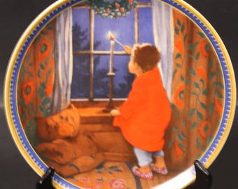 Christmas by Jessie Willcox Smith, from the Childhood Holiday Memories collection.  (CGP-8082)