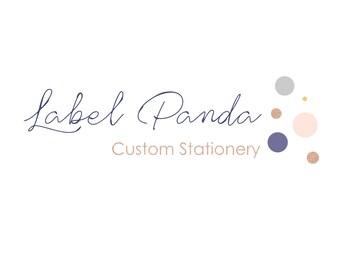 Premade Logo Design, Modern Logo, Photography Logo, Small Business Brand, Blogger Logo, Boutique, Hair Stylist, Wedding and Event Planner