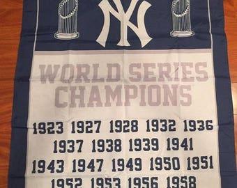 PRE-SEASON SALE 30% Off New York Yankees Banner 3' x 5' Single Sided Banner
