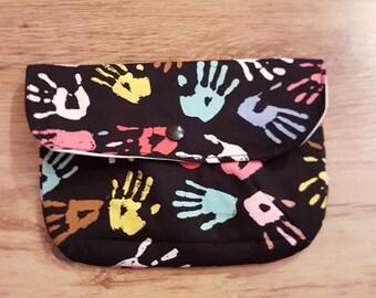 Cotton wet bag purse