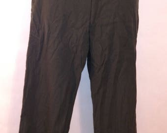 Wool military pants w32 by L32