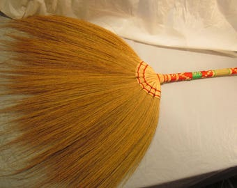 """Wedding Broom with Decorated Handle  for Jumping the Broom at Your Wedding  - 36"""" Tall"""