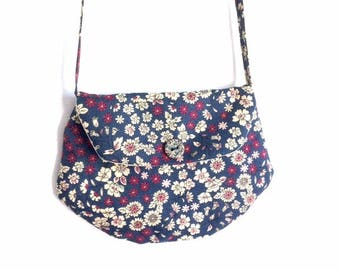 """Bag for girl LIBERTY blue """"clutch"""" style"""