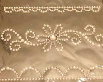 Adhesive Pearl Accents