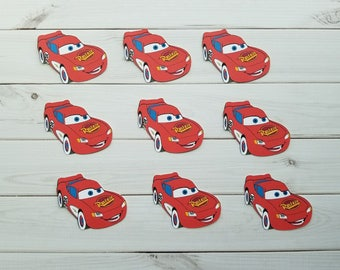 Disney Cars Letters Etsy - Lightning mcqueen custom vinyl decals for car