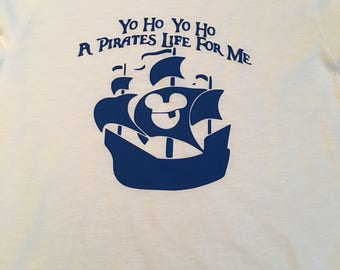 A pirates life mickey shirt