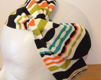 Headband for hair, headband, haedband, hairband, multicolored rayres