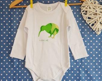 Baby singlets etsy baby singlet kiwiana cotton baby clothes made negle Gallery