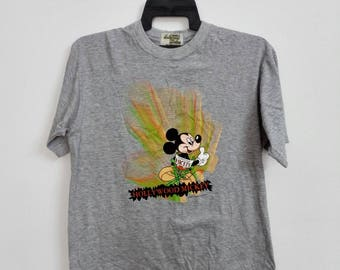 Vintage Hollywood Mickey Mouse Disney Tshirt Size Large