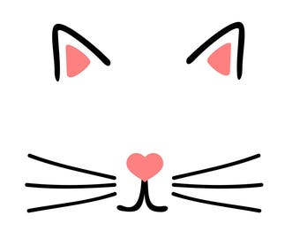 Cat face - svg file