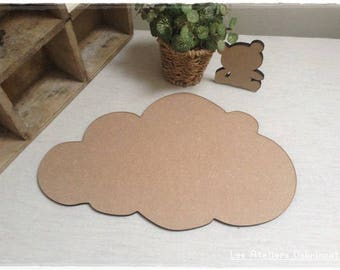 Pretty cloud blank height 18 cm thickness 6mm