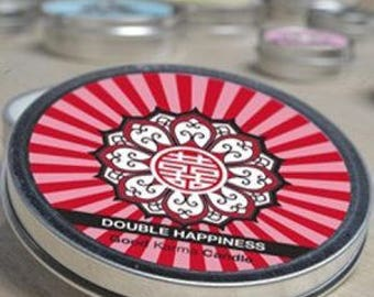 DOUBLE-HAPPINESS (Red Peony)