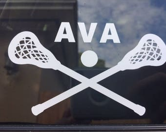 Lacrosse Decal