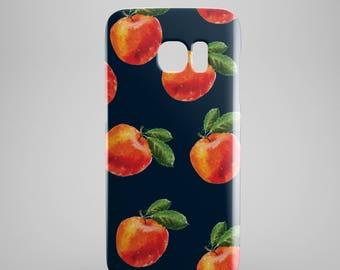 Peaches phone case for Samsung Galaxy S8, Samsung Galaxy S8 Plus, Samsung galaxy note 8, Samsung galaxy note 5, phone covers, fruit print